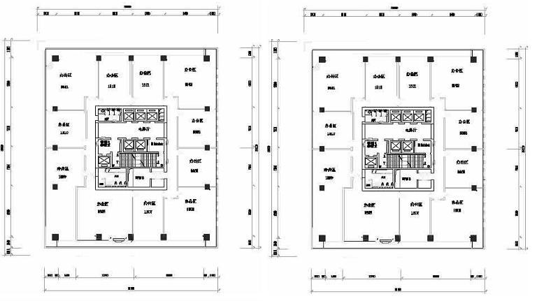 蓝堡国际中心户型图
